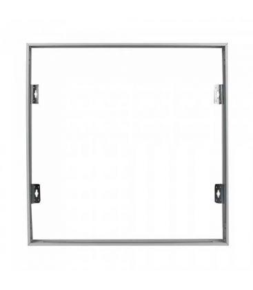 Ramme til 60x60 LED panel - Hurtig samlesett, Hvitt