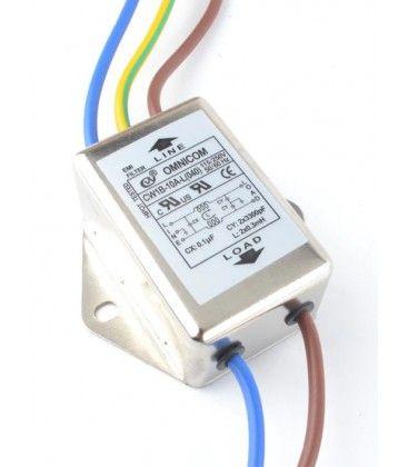 EMI filter - Støyfilter, 10A, 230V