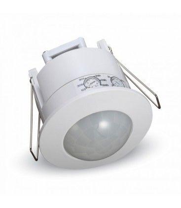 V-Tac bevegelsessensor til innbygging - LED vennlig, hvit, PIR infrarød, IP20 innendørs