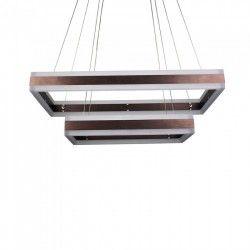 V-Tac 115W LED lysekrone - Soft lys, dimbar, varm hvit, inkl. lyskilde