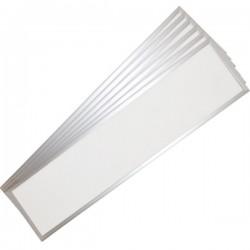 Store paneler V-Tac LED Panel 120x30 - 45W, UGR, 3600lm, hvit kant