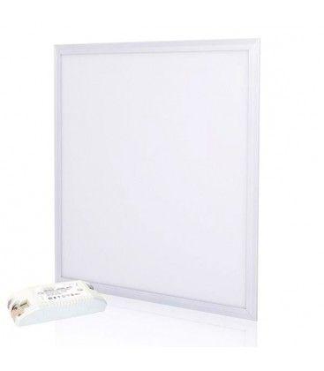 V-Tac 60x60 36W LED panel - 3240lm, hvit kant