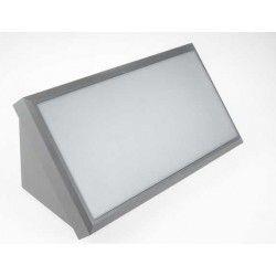 Vegglamper V-Tac 20W LED vegglampe - Grå, IP65 utendørs, 230V, inkl. lyskilde