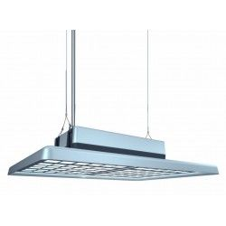 Industri 100W Highbay / taklampe – UGR19, høy synskomfort, RA90, inkl. lyskilde