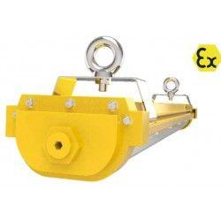 LED lysrørarmatur 60cm eksplosjonssikkert armatur 40W - ATEX godkjent, RA 90, IP66 sprutsikker