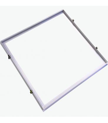 Innbyggingsramme for 60x60 LED panel - Passende for trebetong og gips
