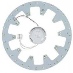 2D kompakt lysrør LED innsats 24W - Ø27 cm, Erstatt sirkulære rør og kompakt rør