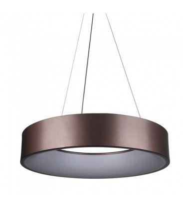 V-Tac 30W LED lysekrone - Kaffe farge, soft lys, dimbar, varm hvit, inkl. lyskilde
