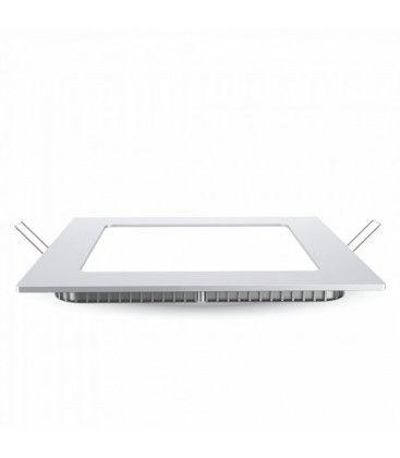 V-Tac 24W LED panel downlight - Hull: 28x28 cm, Mål: 30x30 cm, 230V, Samsung LED chip