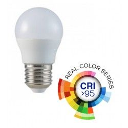 E27 LED V-Tac 5.5W LED pære - G45, E27, CRI 95