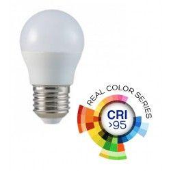 E27 LED V-Tac 5.5W LED pære - G45, E27, RA  95