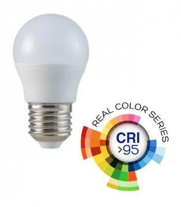 V-Tac 5.5W LED pære - G45, E27, RA 95
