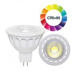 MR16 GU5.3 LED LEDlife LUX3 LED spotpære - 3W, dimbar, RA 95, 12V, MR16 / GU5.3