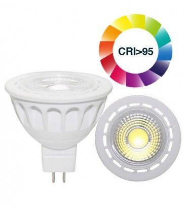 LEDlife LUX3 LED spotpære - 3W, dimbar, RA 95, 12V, MR16 / GU5.3