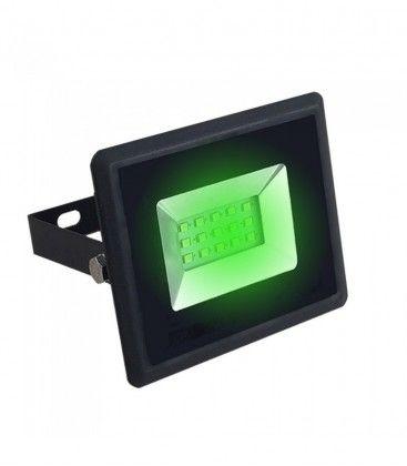V-Tac 10W LED lyskaster - Arbeidslampe, grønn, utendørs