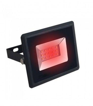 V-Tac 10W LED lyskaster - Arbeidslampe, rød, utendørs