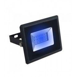 Tilbud V-Tac 10W LED lyskaster - Arbeidslampe, blå, utendørs