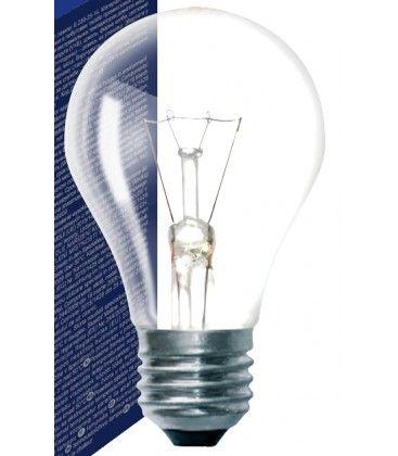 Klar E27 40W glødetrådspære - Classic, 415lm, dimbar, A50