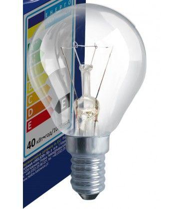 Klar E14 25W glødetrådpære - Classic, 200lm, dimbar, PS45