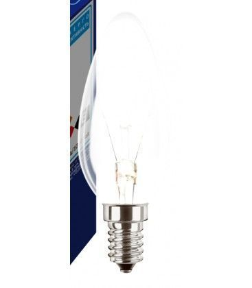 Klar E14 25W glødetrådspære - Classic, 200lm, dimbar, B35