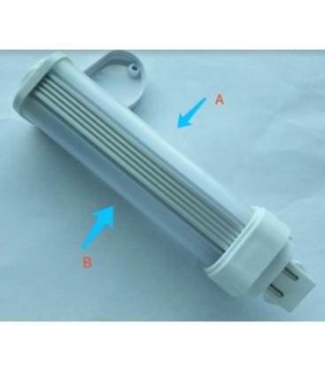 LEDlife G24D LED pære - 5W, 240°, mattert