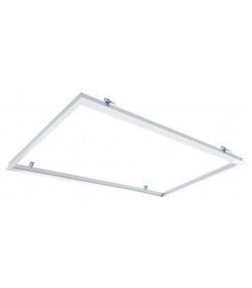 Innbyggingsramme for 120x60 LED panel - Perfekt for trebetong og gips