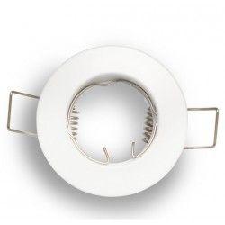 Downlights Downlight kit uten lyskilde - Hull: Ø5 cm, Mål: Ø6 cm, mat hvit, velg MR11 eller GU10 fatning