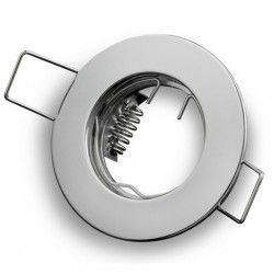 Downlights Downlight kit uten lyskilde - Hull: Ø5 cm, Mål: Ø6 cm, krom, velg MR11 eller GU10 fatning