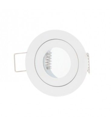 Downlight kit uten lyskilde -  Ø4 cm, hull: Ø5,5, Hvit, IP44, Inkl. keramisk fatning til MR11