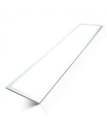 V-Tac LED Panel 120x30 - 45W, 5400lm, 120lm/w, hvit kant