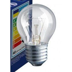 Traditionelle pærer Klar E27 40W glødetrådpære - Classic, 400lm, dimbar, PS45