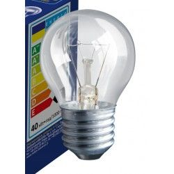 Industri Klar E27 40W glødetrådspære - Classic, 400lm, dimbar, PS45