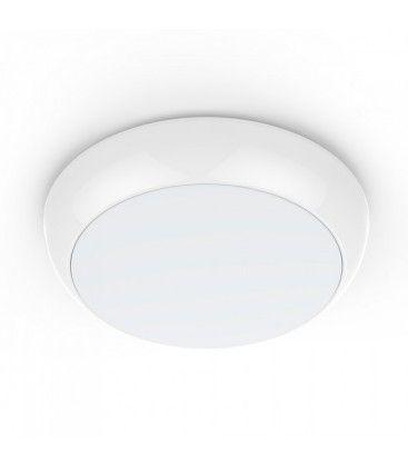 V-Tac 15W LED taklampe - Mikrobølgesensor, skumringssensor, IP65, inkl. lyskilde