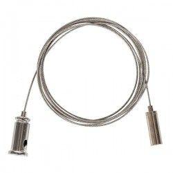 Vekstlys Wire oppheng for armatur - 1,5 meter, justerbar høyde, sett med 2 stk.