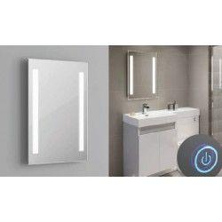 Speil med lys Speil med indbygged LED lys - 37W, Touch, anti-tåke funktion, valgfri lyskulør