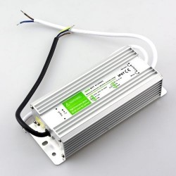 12V RGB 45W strømforsyning - 12V DC, 3,75A, IP67 vanntett