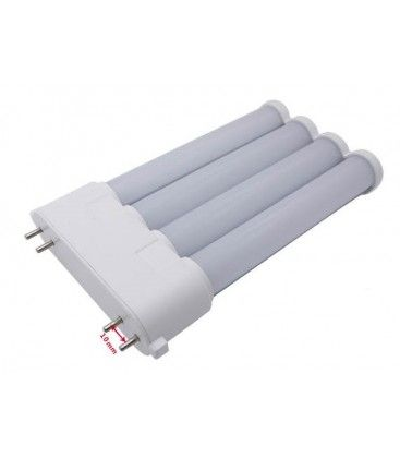 LEDlife 2G10-PRO16 - LED lysstofrør, 10W, 16,5cm, 2G10, 155lm/w