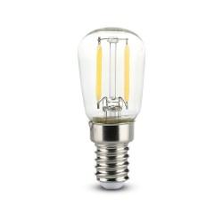 E14 LED V-Tac 2W LED Refrigerator - Karbon filamenter, ST26, E14