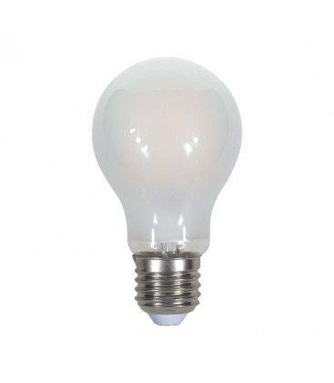 V-Tac 5W LED pære - Karbon filamenter, mattert, A60, E27