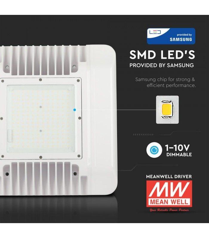 V Tac 150W LED lampe til bensinstasjoner Samsung LED chip