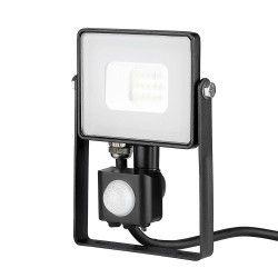 Lyskastere med sensor V-Tac 10W Lyskaster med sensor - SMD, Samsung LED chip