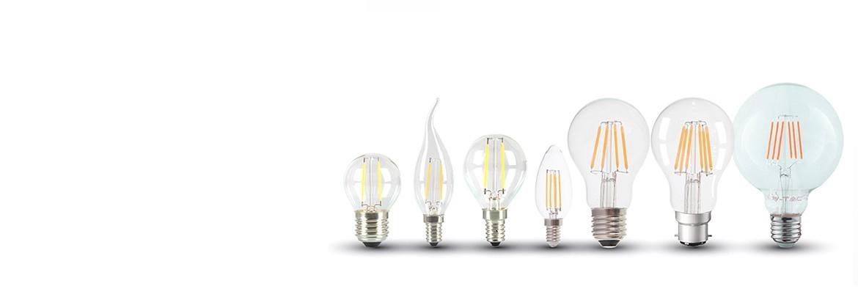 Kjempe LED pære utvalg